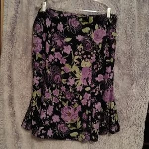 Flowered skirt
